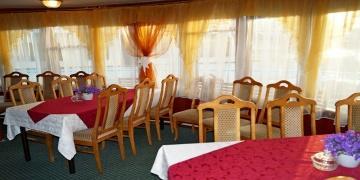 Верхний ресторан, кормовая часть средней палубы