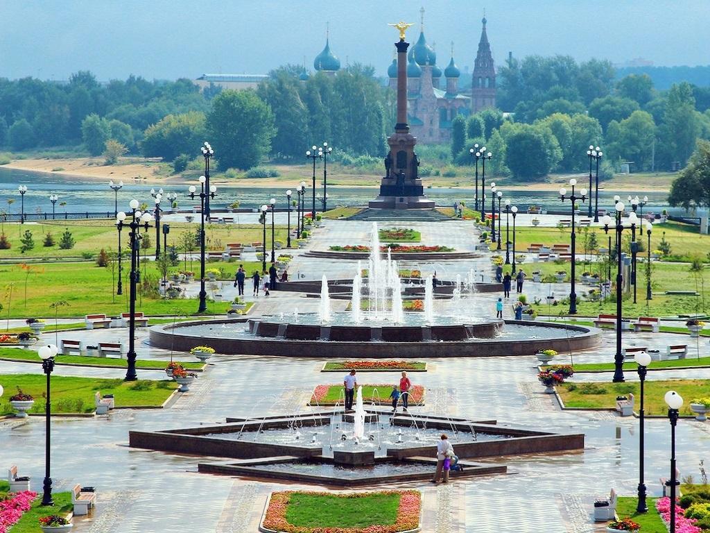 Стоянка в городе Ярославль