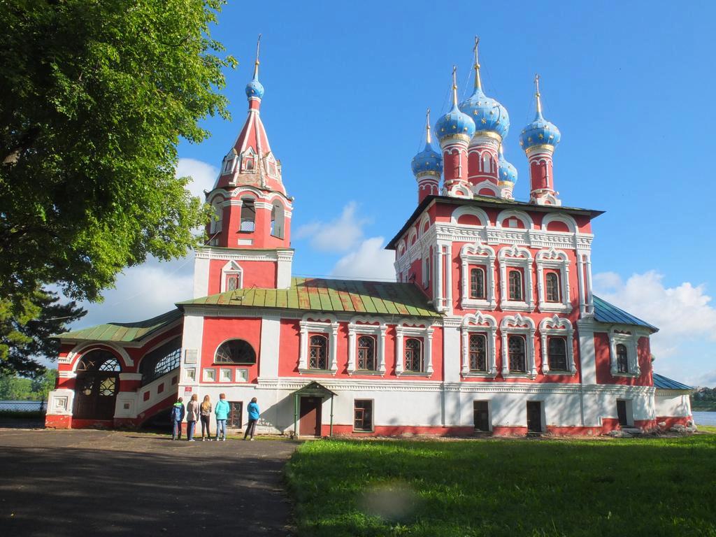 Стоянка в городе Мышкин