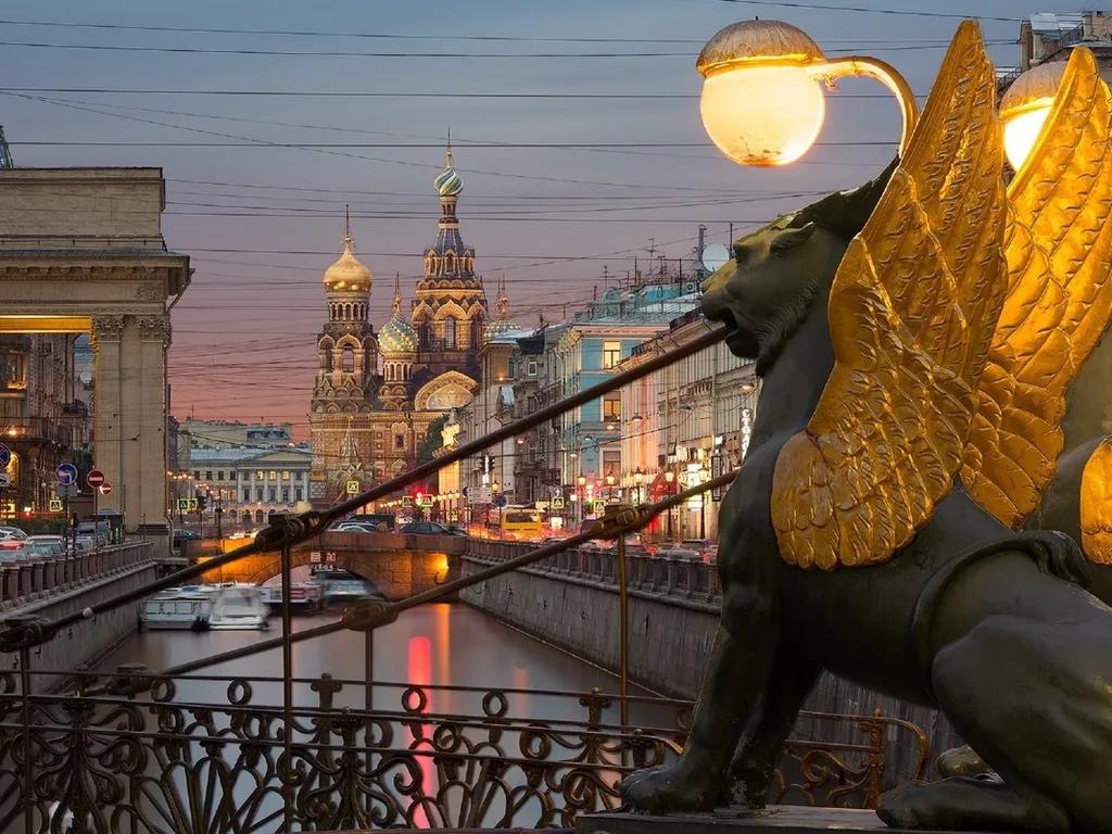 Стоянка в городе Санкт-Петербург
