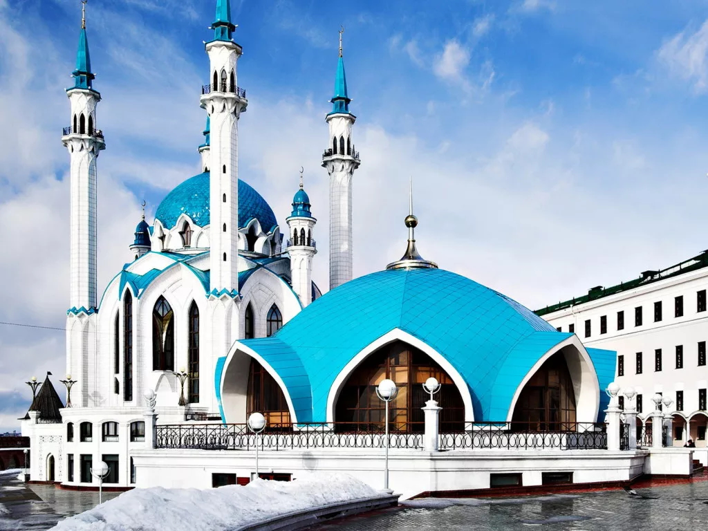 Стоянка в городе Казань