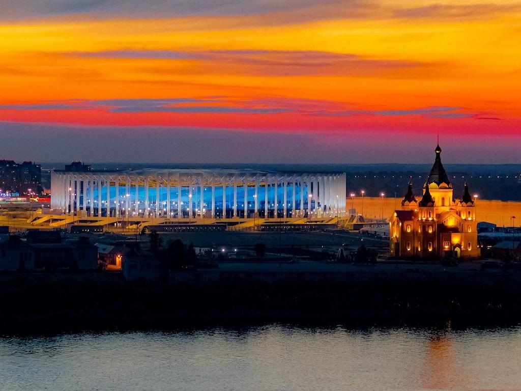 Стоянка в городе Нижний Новгород