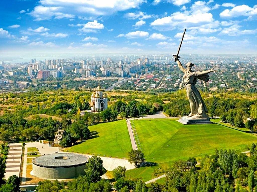 Стоянка в городе Волгоград