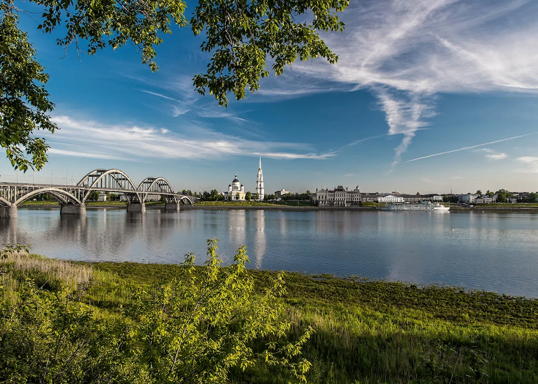 Стоянка в городе Рыбинск