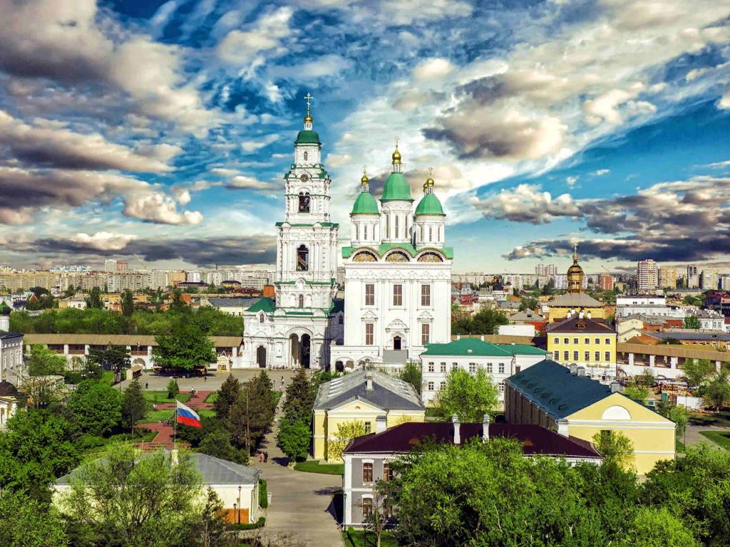 Стоянка в городе Астрахань