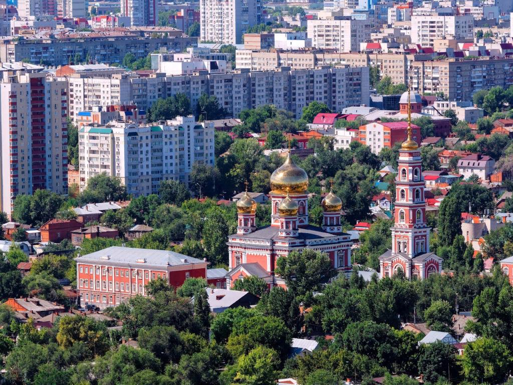 Стоянка в городе Саратов