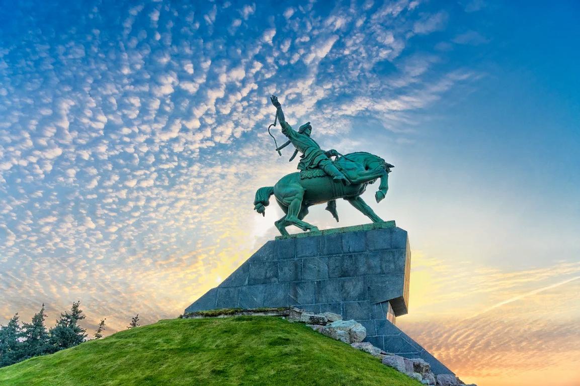 Стоянка в городе Уфа