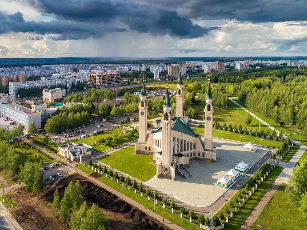 Стоянка в городе Нижнекамск