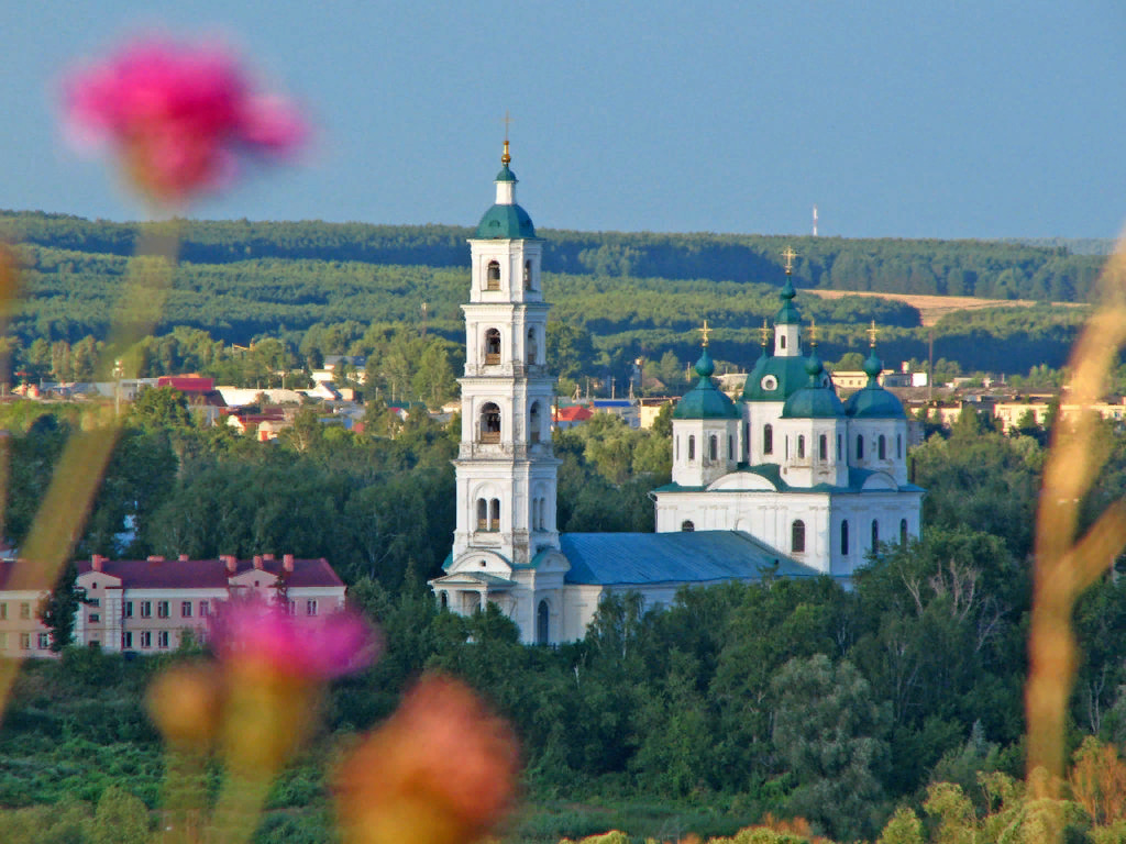 Стоянка в городе Елабуга