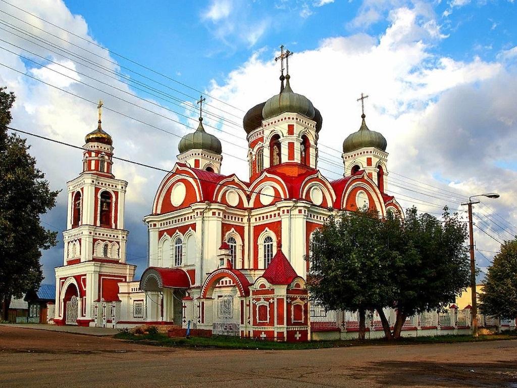 Стоянка в городе Козьмодемьянск