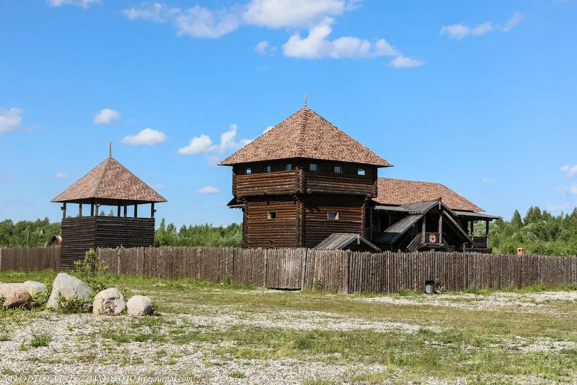 Стоянка в городе Кузино