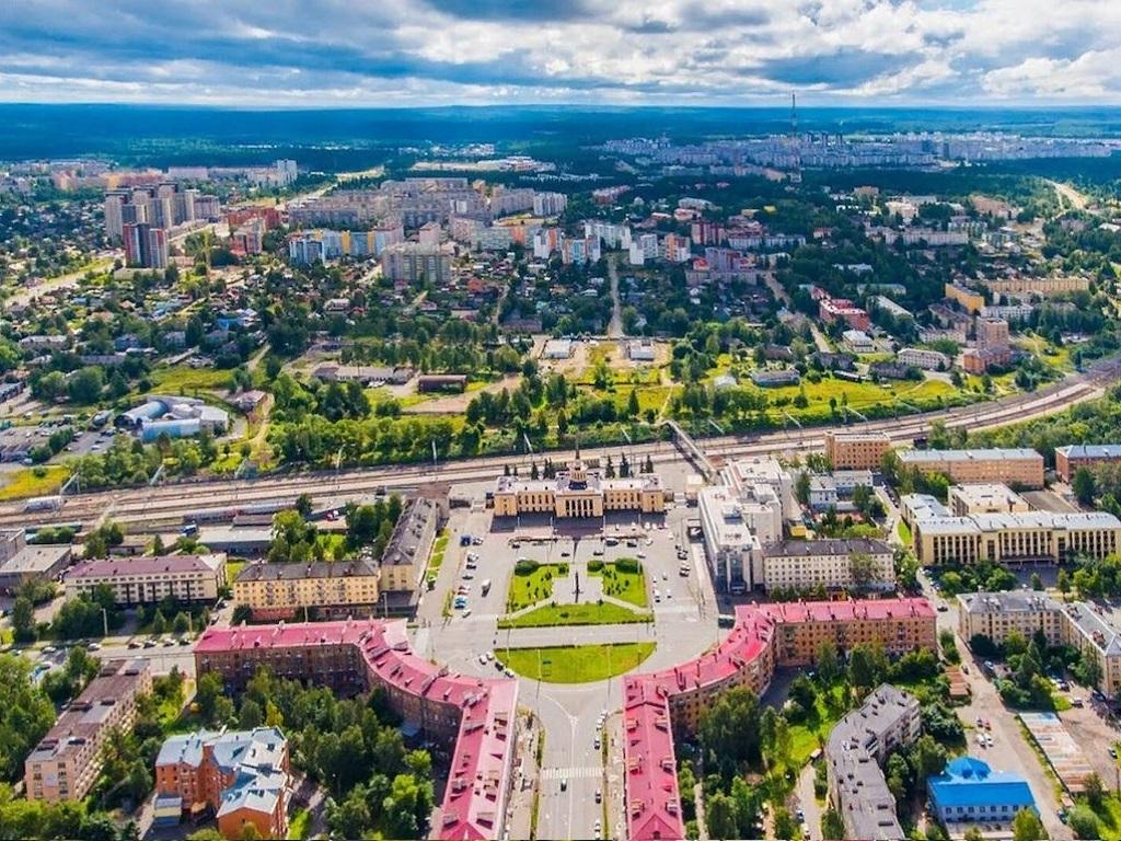 Стоянка в городе Петрозаводск