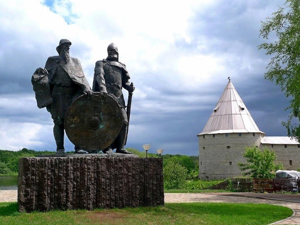 Стоянка в городе Старая Ладога
