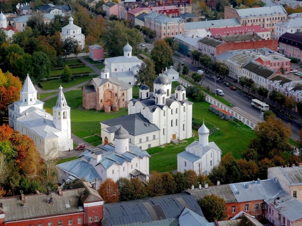 Стоянка в городе Великий Новгород